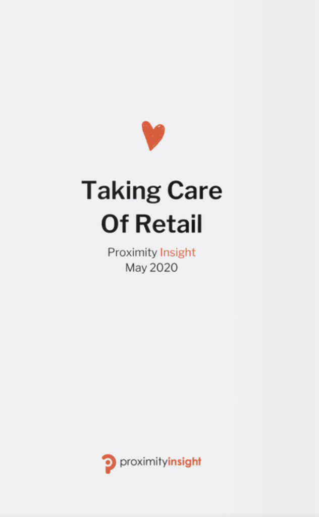 Taking Care Of Retail, by Proximity Insight